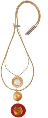 Marni Oversized Pendants Necklace