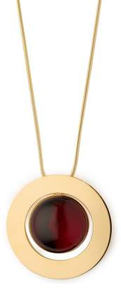 Marni Sphere Drawstring Necklace - Womens - Red