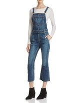 Rag & Bone Crop Flare Overalls in Paz