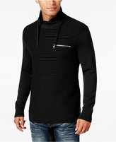 INC International Concepts Men's Textured Funnel-Neck Sweater, Only at Macy's