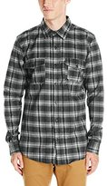 HUF Men's Tardy Flannel Shirt