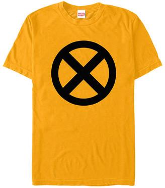 Fifth Sun Tee Shirts GOLD - X-Men Gold & Black Insignia Tee - Adult