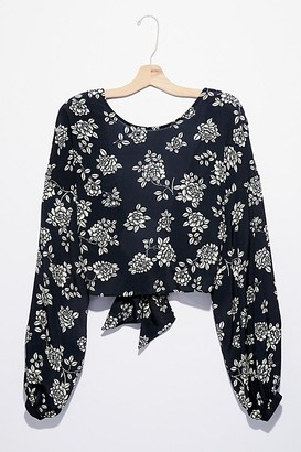 Free People Blaire Tie Back Top