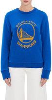 The Elder Statesman X NBA Women's Golden State Warriors Logo Cashmere Sweater
