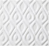 Peacock Alley Astoria Wash Cloth, White - White
