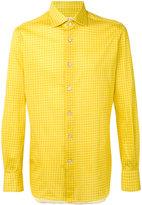 Kiton checked shirt - men - Cotton - 38