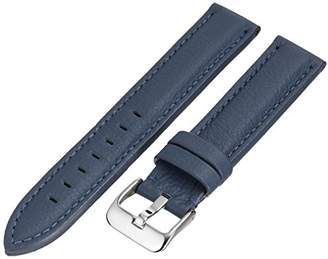 Hadley Roma Hadley-Roma MS2044RF 180 18mm Leather Calfskin Watch Strap