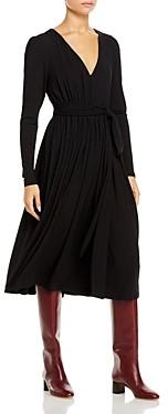 Rebecca Taylor V Neck Midi Dress