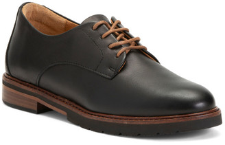Made In Portugal Comfort Leather Oxfords