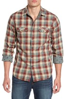 Jeremiah Men's Reversible Regular Fit Sport Shirt