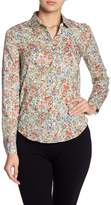 Cacharel Floral Print Long Sleeve Blouse