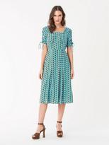 Diane von Furstenberg Beatrix Crepe Dress
