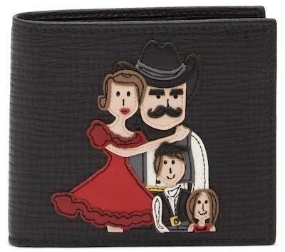 Dolce & Gabbana Western Bifold Leather Wallet