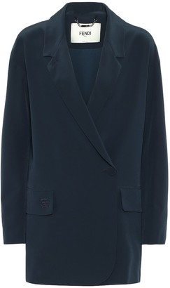 Fendi Silk blazer