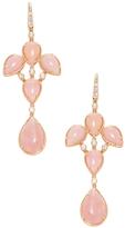 Rina Limor Fine Jewelry 18K White Gold, Amazonite & 0.18 Total Ct. Diamond Chandelier Earrings