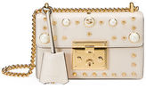 Gucci Padlock Small Studded Leather Shoulder Bag