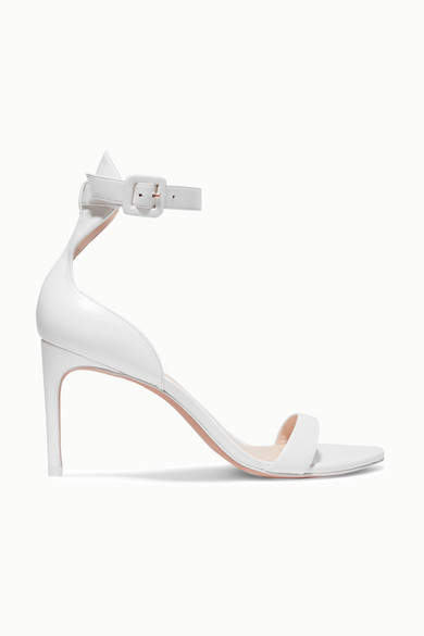 Sophia Webster Nicole Leather Sandals - White