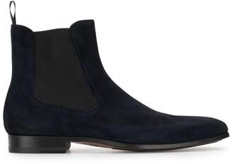 Magnanni suede Chelsea boots