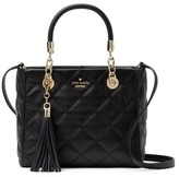 Kate Spade Emerson Place Lyanna Quilted Leather Shoulder Bag - Black
