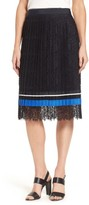 BOSS Women's Minka Pleated Lace Skirt