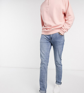 ASOS DESIGN Tall skinny jeans in vintage mid wash