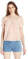 Mara Hoffman Women's Stripe Off Shoulder Top