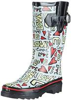 Beck Womens Love Cold lined rubber boots half length multi-coloured Mehrfarbig (multicolor 50) Size: 5