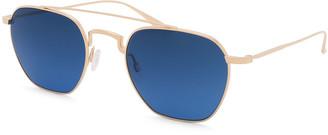 Barton Perreira Men's Doyen Titanium Aviator Sunglasses