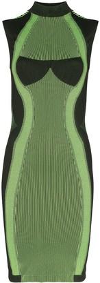 Misbhv Aero sport knit mini dress