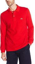 Lacoste Men's Long Sleeve Classic Pique L.12.12 Original Fit Polo Shirt