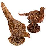 Park Hill Pheasant Figurine Pair