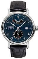 Zeppelin Watches Men's Automatic Watch 7560-3 with Leather Strap