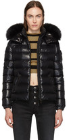 Moncler Black Down Baddyfur Jacket