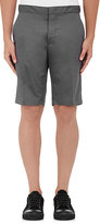 Lanvin MEN'S POLISHED COTTON SHORTS