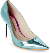 Sophia Webster Mint Coco Flamingo Pointed Toe High Heel Pumps