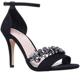Carvela Krackle Embellished Heeled Sandals, Black