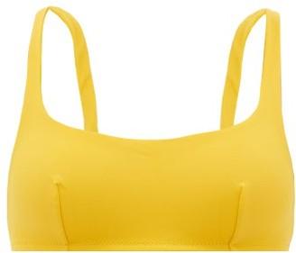Araks Quinn Scoop-neck Bikini Top - Womens - Yellow