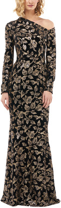 Kay Unger Sequin Gown