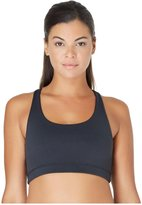 Yummie by Heather Thomson Janet Wire-Free Racer Back Active Bra - Black - X-Small