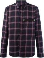 Givenchy plaid print shirt