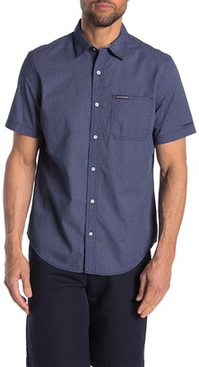 Calvin Klein Micro Dot Patch Pocket Regular Fit Shirt