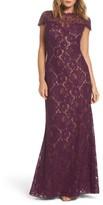 Tadashi Shoji Women's Corded Lace A-Line Gown
