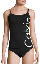 Calvin Klein Logo Tankini Top