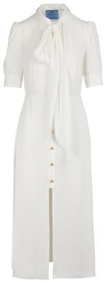 Prada Short-sleeved long dress