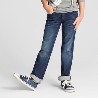 Cat & Jack Boys' Knit Straight Fit Denim - Cat & JackTM