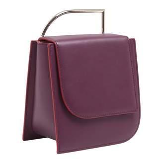 Lautem Pascal Leather Bag Eggplant