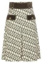 Gucci Printed wool shorts