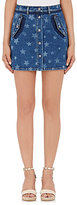 Valentino Women's Star-Print Miniskirt