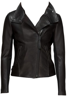 Mackage Sandy Classic Moto Leather Jacket