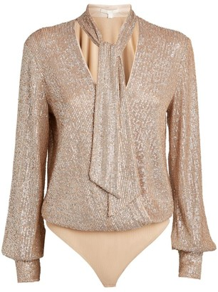 Jonathan Simkhai Sequin-Embellished Bodysuit